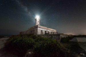 Vue du phare dans l'état actuel