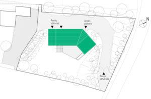 Plan masse MRV à Toulouse