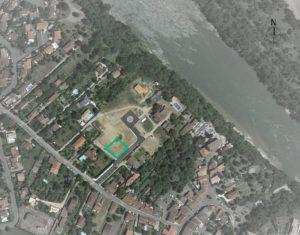 Vue aérienne de la maison MAR à Beauzelle (31)