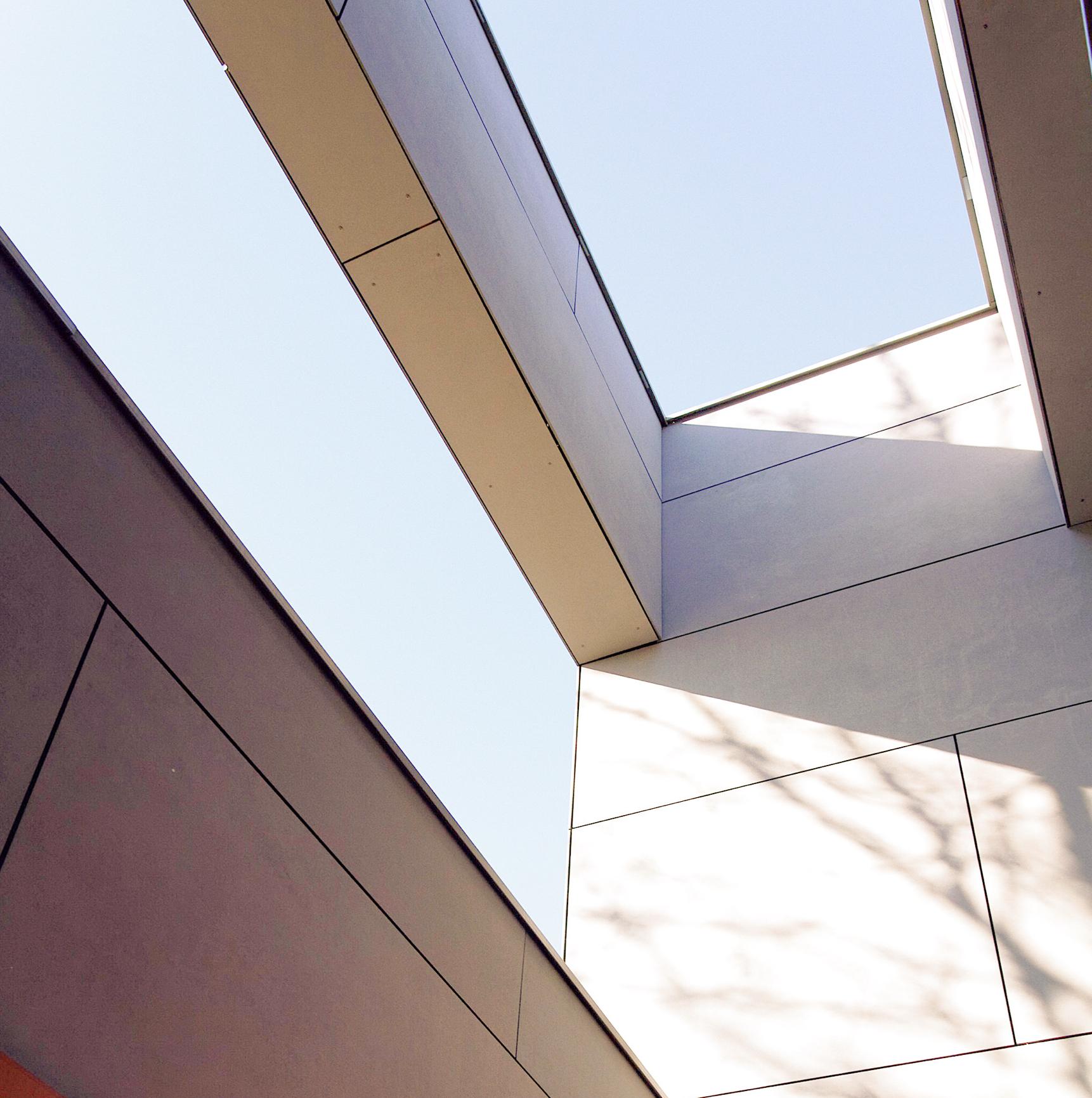 Détail Façade CIC Aucamville- rénovation de façade d'une agence bancaire- architectes toulouse
