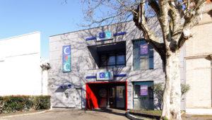 Façade CIC Aucamville- rénovation de la façade du CIC d'Aucamville