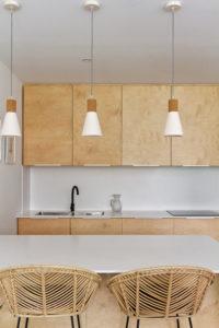 Maison PP-cuisine bois béton corian- maison neuve toulouse- sept deniers-architecte toulouse-saarchitectes