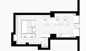 Plan Allibert Trekking-rénovation d'une agence de voyage-rue Gambeta Toulouse