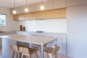 Vue de l'intérieur de la cuisine