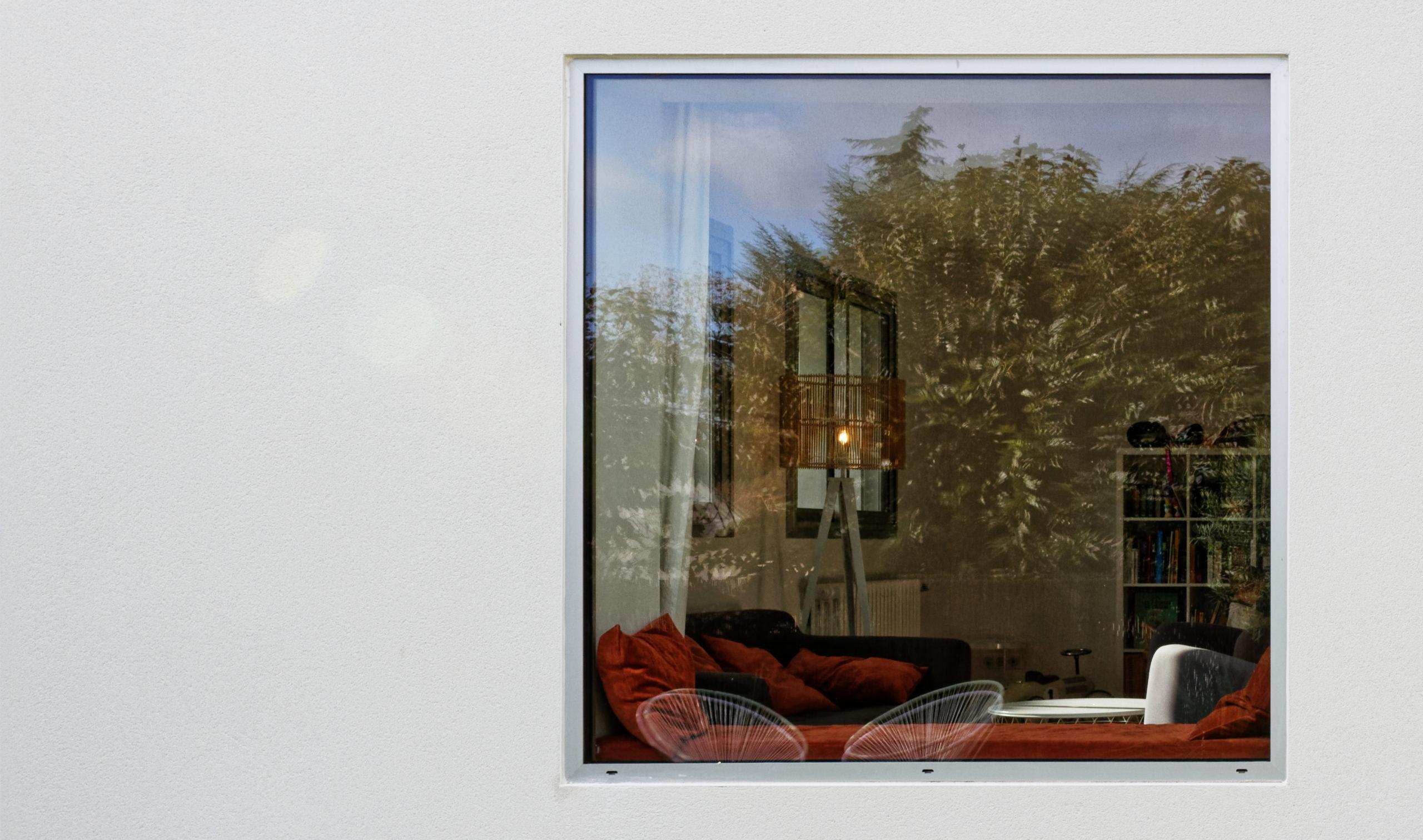 Cadrage fenêtre banquette- rénovation maison A- rénovation des années 70