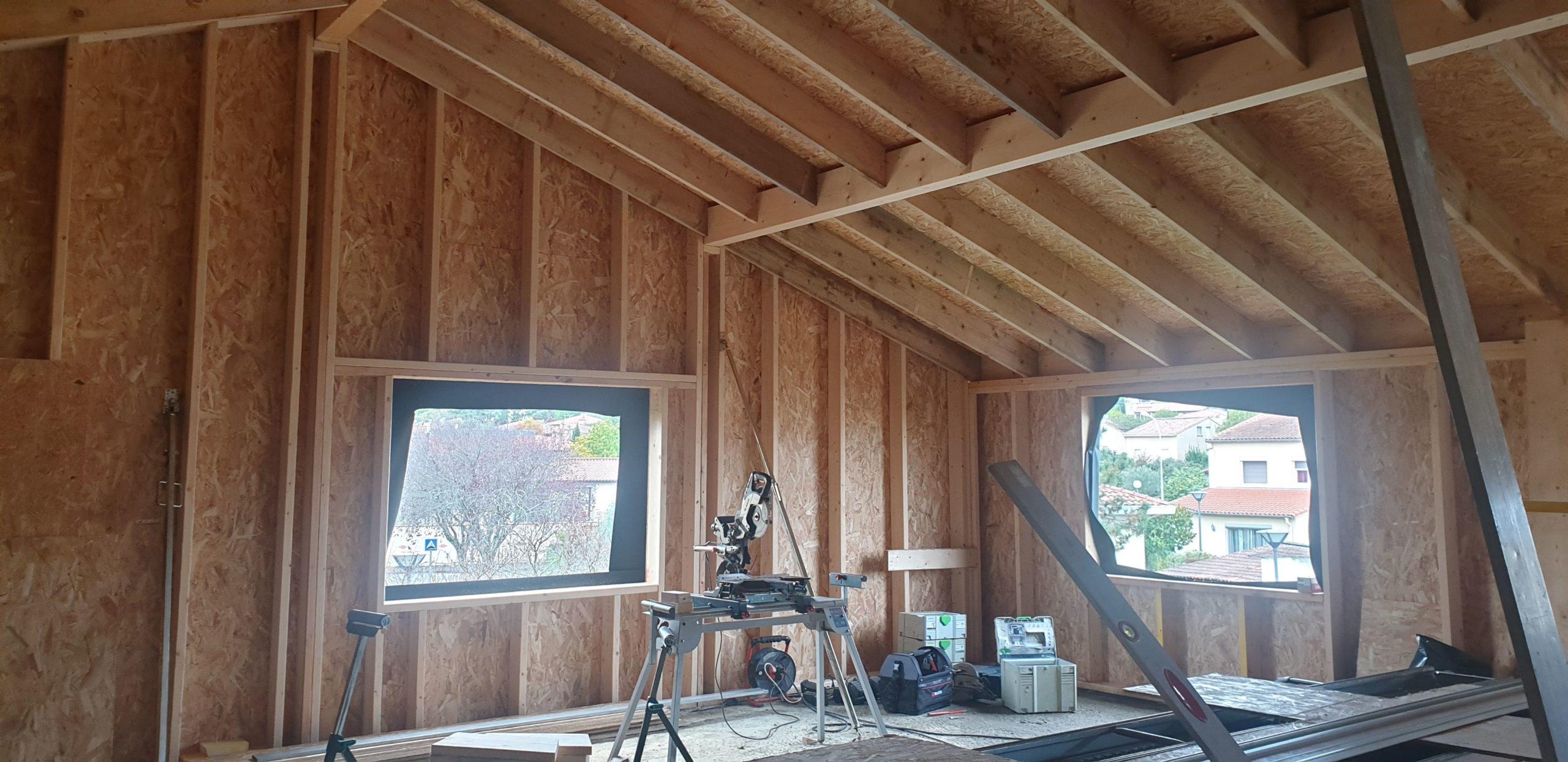 Vue intérieure chantier