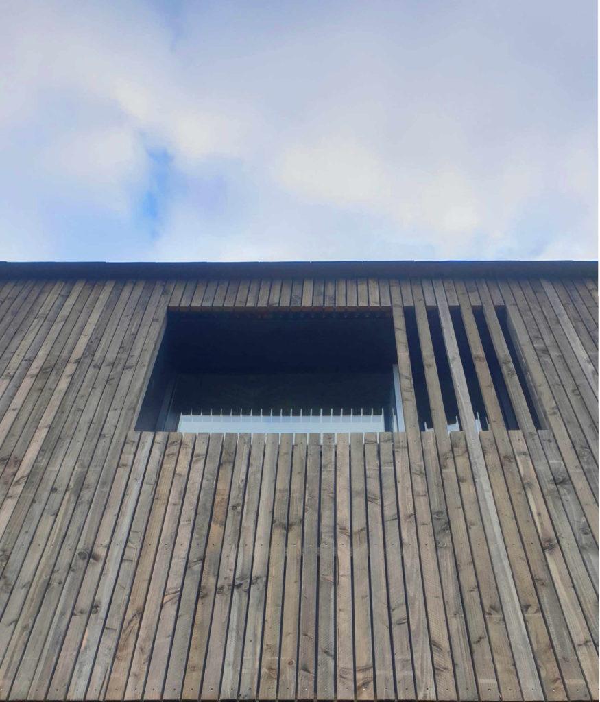 Habillage bois maison B