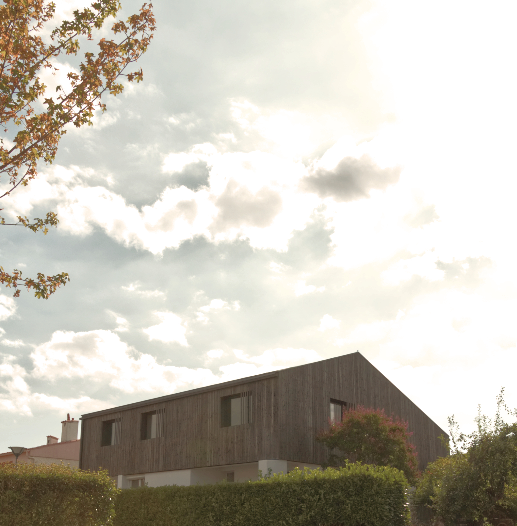 Surélévation maison B- ossature bois- struturebois-architectestoulouse-colomiers