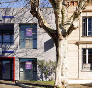 Façade CIC Aucamville- rénovation de façade d'une agence bancaire- architectes toulouse